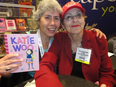 Authors Marilyn Singer & Fran Manushkin