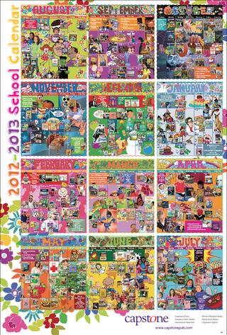 2012-13 Calendar Poster