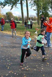 Violet running