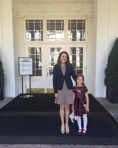 Rachel and daughter
